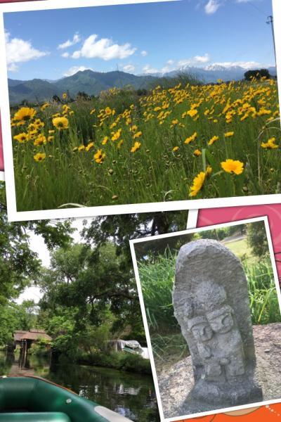 さわやか信州・安曇野 女4人ほっこり道祖神の旅