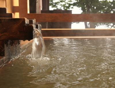 岸権旅館 ☆ 六左衛門の湯を楽しむ