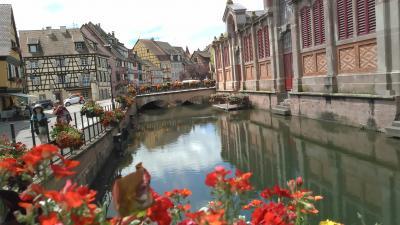 JAL利用スイス・アルプス3大名峰と東フランスの花の村・美しい村をめぐる9日間その7 コルマール・レクヴィル