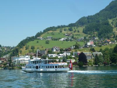 スイスの車窓から~ 【1】 ウィリアムテル特急 チューリッヒ ~ ルツェルン ~ ルガーノへ