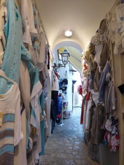 夏の優雅な南イタリア周遊旅行♪ Vol17(第2日) ☆Positano:海岸からポジターノ旧市街を眺めて♪