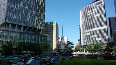 名古屋も猛暑でした
