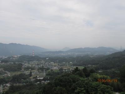 顕鏡寺の白蓮さんと石老山(8)見晴らし台経由山頂へ。