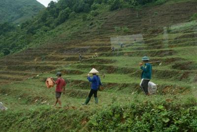 ベトナム北部 ラオカイからハザン省の省都ハザン(HA GIANG)へ