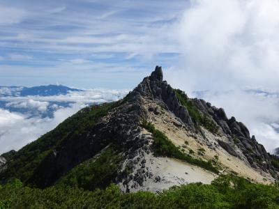 南アルプス♪鳳凰三山縦走登山(広河原~夜叉神峠登山口)