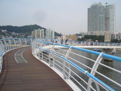 152回目訪韓は釜山2泊3日旅。大好きなチムジルバンで2泊。⑤/⑨:松島スカイウォーク(2016/7/9~11)