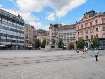 チェコ旅行ー1:ブルノ(間違いがあり)