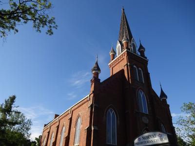 赤毛のアンへの旅~~プリンスエドワード島へ(2) モンゴメリが暮らした牧師館と教会(ノーヴァル)