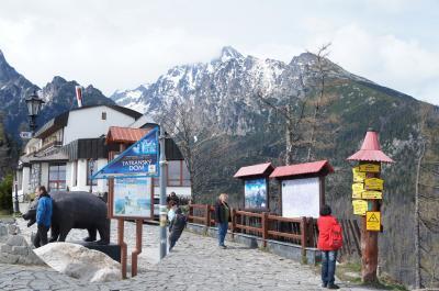 ヴィソケー・タトリ山麓で一番古い村スタリー・スモコヴェツ