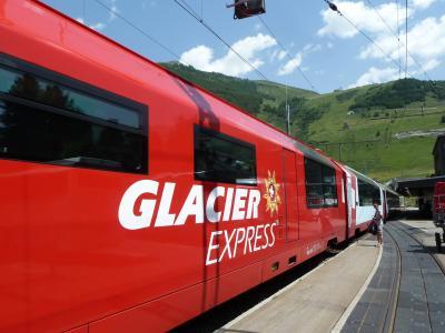 スイスの車窓から~ 【4】 氷河特急~ツェルマットへ