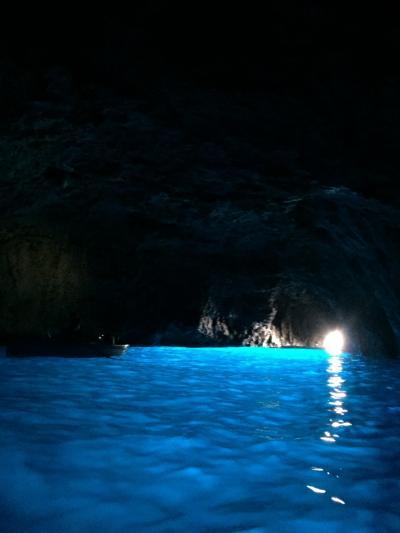 春休み@カプリ島バス&船の旅!!⑤青の洞窟 陸路で挑戦GO