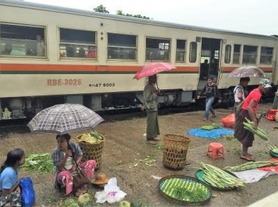 ヤンゴン&バガン旅行1日目 前半