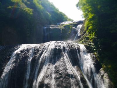 袋田の滝でマイナスイオンを独り占め①【袋田の滝】