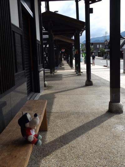 グーちゃん、越後湯沢へ行く!(塩沢/牧之通りにて・・・。カマキリ男登場!編)