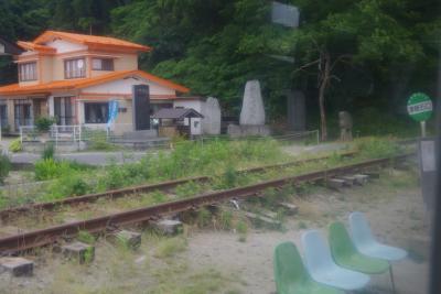 釜石線と、いまだ震災の爪痕が残る釜石と宮古間をバスで旅します。
