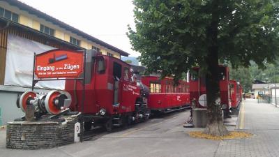 ②バートイシュルから546バスでシャーフベルグ鉄道往復