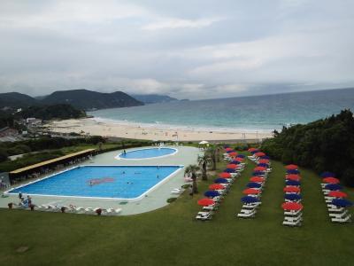 白砂が美しい白浜海岸☆ホテル伊豆急☆2016年夏休み☆