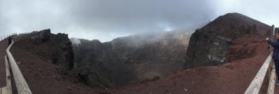 春休み@ソレント 鉄道&船の旅!!⑥ヴェスヴィオ火山に登ろ!