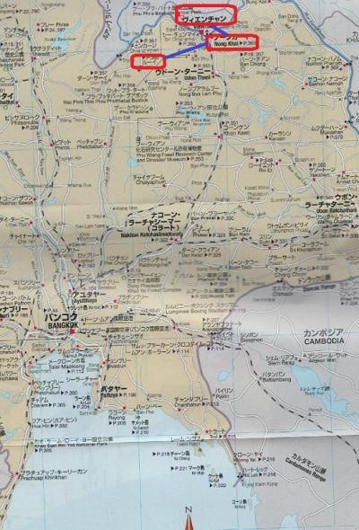 2016春・タイとラオスの北部野犬に吠えまくられの旅日記(20)ノーンカーイ→ウードンターニー→ルーイ