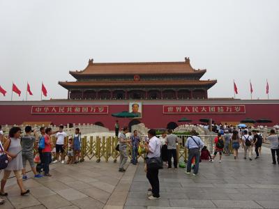 2016北京旅行4 交通カードで行く天安門・故宮博物院