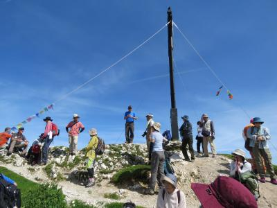 チロル・ドロミテ・ザルツカンマーグート10日間の旅③ゼーフェルダー・シュピッツエまでの稜線の往復ハイキング