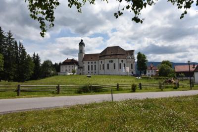 2016年 ドイツの旅(1)ミュンヘンからノイシュヴァンシュタイン城とヴィ-ス教会 1日旅