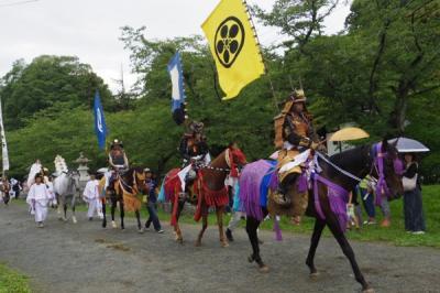 150724-26青春18きっぷで栃木&福島【3】相馬野馬追・御出陣&御行列etc