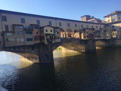 初めてのフィレンツェ~④7/17美術館めぐりとベッキオ橋を望む絶景レストラン&地元スーパー