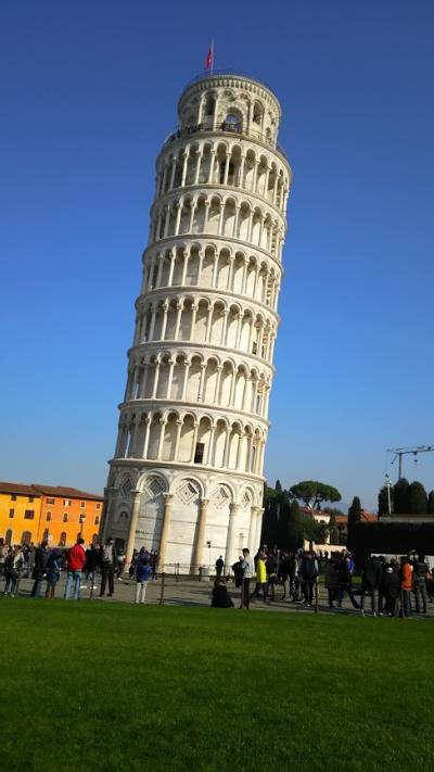 年越しのイタリア!《1~2日目 @ピサ→フィレンツェ》