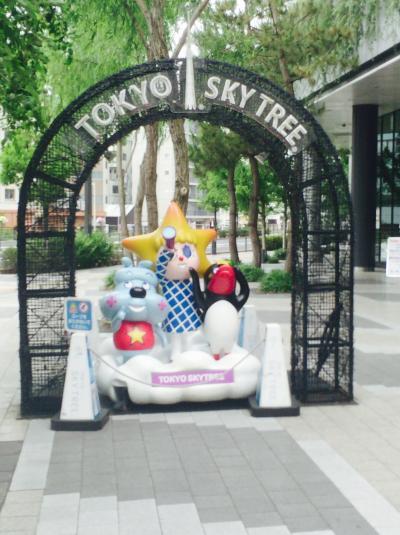 母と娘の弾丸旅行   東京スカイツリーを見に行く!①