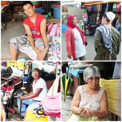 フィリピンの庶民の生活を垣間見る ー 都会、田舎、街頭、路地裏、マーケツト、人々等など・・・
