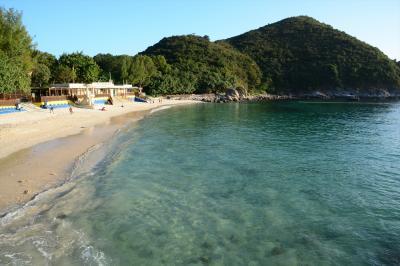 週末香港D2-2★自然に癒され充実した週末~香港一美しいビーチへ ビーチでまったり編~