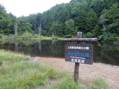 高原歩き・木戸池周辺