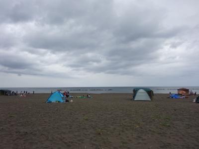 2016年夏キャンプ☆恒例の川下海浜公園