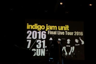 2016.7 indigo jam unit Final Live Tour @横浜Motion Blue