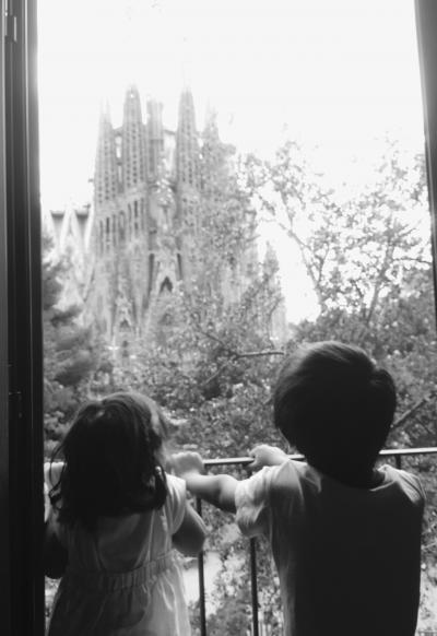 バルセロナ 旅の途中
