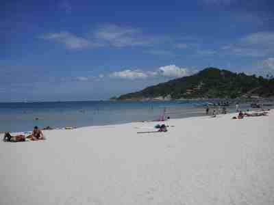 快晴のパンガン島へ・・・・晴れたのは最初の2日だけ。