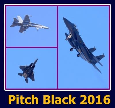 安い、近い、短い旅の記録 No.31 空気を引き裂くような音と共に飛び去っていく戦闘機を庭でも見ることが出来る「Pitch Black 2016」が始まりました。~ダーウィン編 2016年8月1日(月)