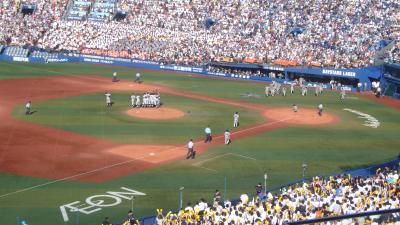[野球]高校野球神奈川県予選決勝を観る旅(2016.7.30-8.1)