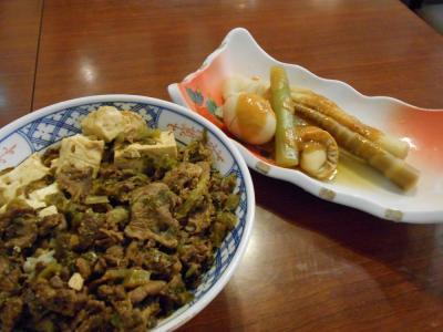 たまには「ベタ」な郷土料理1606  「馬肉料理&生姜味噌おでん」   ~青森~