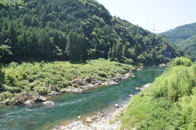 踊りなしの郡上八幡まで長良川鉄道で【5歳児と夏旅 2】