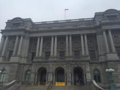 久しぶりのニューヨーク&初めてのワシントンD.C.⑥4/30議会図書館とダンバートンオークスガーデン&名物レストランで夕食