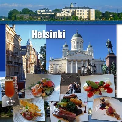 ヘルシンキ・タリン・ムフ島、6泊8日 1 -ヘルシンキ、Hilton Helsinki Strand泊、Passio -keittio・ ja baari-で夕食-