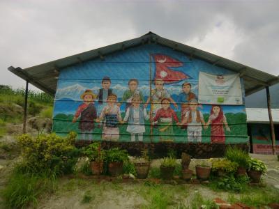 地震後1年3か月のネパール③バラジュ