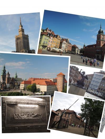 4泊7日 ☆ ポーランド&ドイツで世界遺産巡り  -ワルシャワ&クラクフ編-