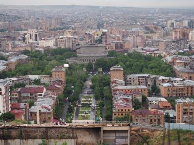 100年前の都市計画で出来た街、エレバン