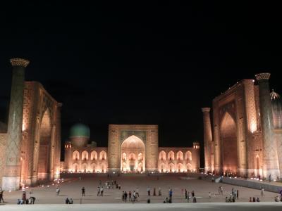 真夏のシルクロード ~自力でウズベキスタン1週間~ #3 レギスタン広場はウズベク人との社交場だ! @サマルカンド(後編)