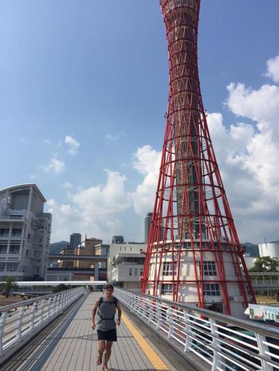 夏休みの旅ラン 二日目 六甲山トレラン&神戸観光ラン