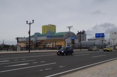 ダイヤモンド・プリンセス号で昨年に続いてクル−ズ[三日目ー釧路港入港とムーと幣舞橋)