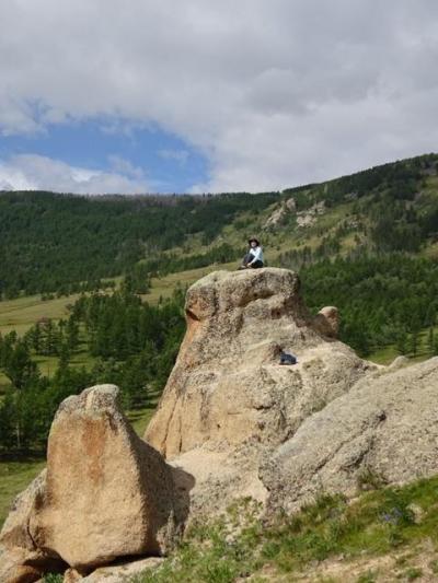 のんびりフラワーハイキング@ツェベクマーキャンプ周辺(テレルジ)